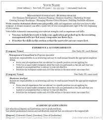 Microsoft Word Job Resume Template Free Top Professional