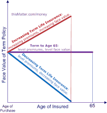 Term Life Insurance Rates Chart Decrease Term Life Insurance Success Financial Freedom