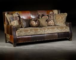 custom patchwork leather cowhide sofa city creek furniture inside cowhide sofas image 8