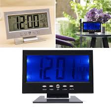 Light Up Radio Clock Radio Alarm Clocks Clock Radios Sound Sensor Light