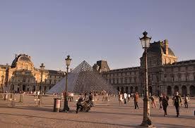 Лувр Париж Франция обзор фото история достопримечательности   Париж Франция