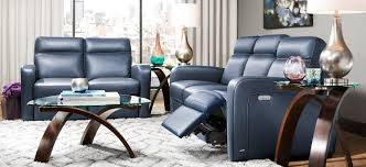 denton leather power reclining sofa