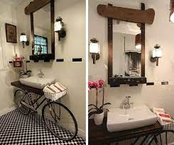 Benjamin Bullins Crafts A Chic Sink Vanity From An Old Bike