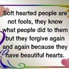 soft-hearted