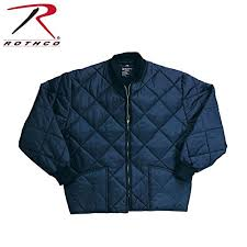 Diamond Quilted Flight Jacket by Rothco, Navy - Shopinzar.com & Diamond Quilted Flight Jacket by Rothco, Navy Adamdwight.com