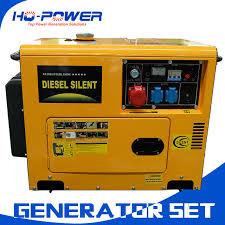 5000watt silent diesel generation price 5kw indoor power generators t59 generators