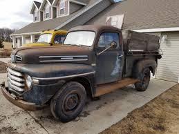 1949 Mercury Pickup Truck Original Patina Rare M68 Farm Barn truck ...