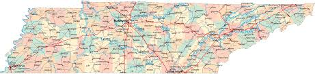 tennessee road map  tn road map  tennessee highway map