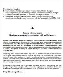 8 Memorandum Sample Examples In Word Pdf