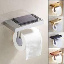 <b>FLG</b> Wall Mount Solid Brass <b>Toilet</b> Roll <b>Paper Holder</b> Single ...