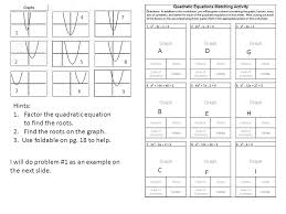 matching equations tables and graphs answer key tessshlo