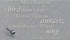 a angelou surviving adversity passionate poetry a