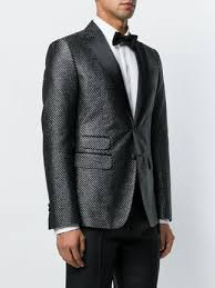 Patterned Tuxedo Extraordinary Dsquared48 Patterned Tuxedo Jacket Farfetch