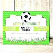 Soccer Party Invitation Template Free Printable Birthday Invitations Soccer Completepetz Club