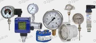 Контрольно измерительные приборы и автоматика купить в  Манометры термометры и КИП фирмы wika Германия