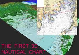 The First Three Dimensional Nautical Chart