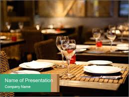 Table Setting Templates Fine Table Setting Powerpoint Template Infographics Slides