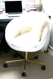white and gold vanity stool. Vanity Stool White Gold Chair Round Desk Office In Decor Hack Fur Legs To And