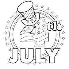 Small Picture Printable Coloring Pages July 4th Coloring Pages