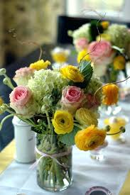flower arrangements green white decoration red pink yellow and blue spring perfect