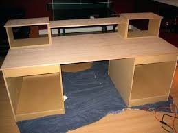 diy studio desk photo 4 of studio recording desk home studio desk good looking 4 diy