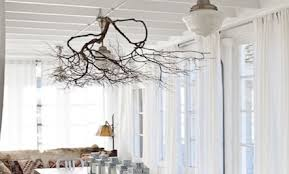 Organic Accents: Branches Used As Decor