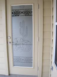 etched glass decals southwest decal