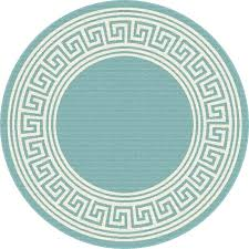 aqua outdoor rug 8 round key aqua indoor outdoor rug garden city furniture sturbridge hand