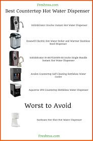 best countertop hot water dispenser