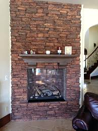 airstone fireplace makeovers stacked stone remodel makeover photos