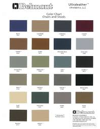 Color Chart Ultraleather Tm Chairs And Stools Stool