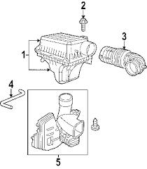parts com® dodge charger air intake oem parts 2006 dodge charger daytona r t v8 5 7 liter gas air intake