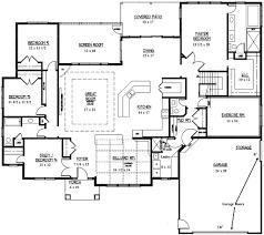 custom homes floor plans modern house