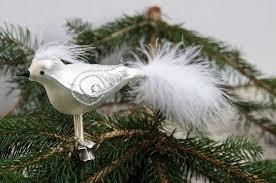 Christbaumschmuck Vogel Kopffeder Wwwkleinedingeladende