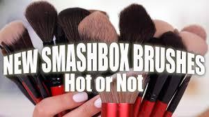 NEW <b>SMASHBOX</b> MAKEUP <b>BRUSHES</b> | Hot or Not - YouTube