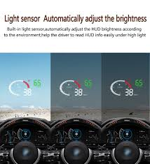 <b>Geyiren X6</b> HUD Head Up Display 3'' Screen OBD II Interface <b>Car</b> ...