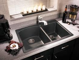 granite drop in sink. Beautiful Sink Swanstone QZDB3322170 Granite Double Bowl DropIn Kitchen Sink  Espresso Inside Drop In