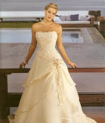 chiffon pretty gold wedding dresses about wedding blog