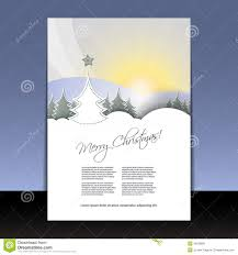 christmas flyer or cover design stock image image  christmas flyer or cover design
