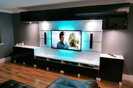 Wall Mount Tv Furniture Ideas Furniture Modern Wall Mounted Tv Shelves With  Recessed Lighting Cheap Mounting Tv On Wall Ideas