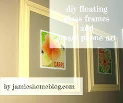 glass floating frames original floating frame for canvas floating picture frame medium size of staggering glass