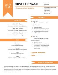 Gallery Of Fun Resume Templates
