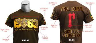 fraternitysorority ultimate custom crossing t shirt includes within custom greek letter shirts