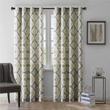 Designer Drapery Panels Cream Colored Blackout Curtains Designer Drapes For Living
