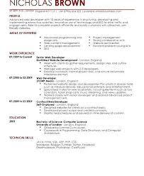 Download Junior Web Developer Resume