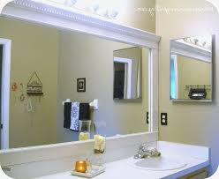 Framing Bathroom Mirrors with Crown Molding for Your Property ...