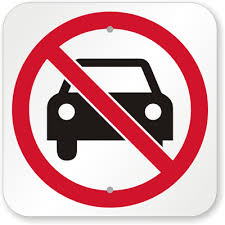 No Motorized Vehicles Signs Prevent Trespassing