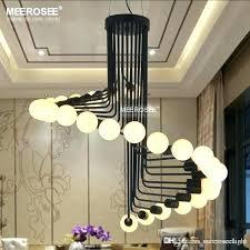 large outdoor chandelier modern loft industrial chandelier lights bar stair dining room outdoor chandelier lighting outdoor