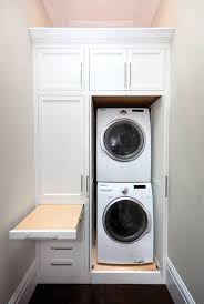 Pull Out Ironing Board - Transitional - laundry room - Marsh and Clark