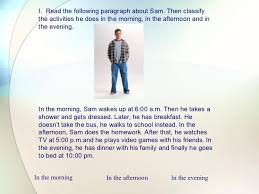 English essay daily routine Kymber Random